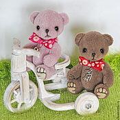 Куклы и игрушки ручной работы. Ярмарка Мастеров - ручная работа Мишки тедди-мини - 8см.. Handmade.