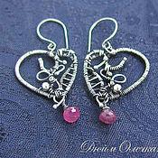 Украшения handmade. Livemaster - original item silver earrings