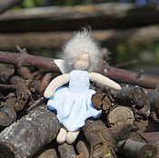 Вальдорфские куклы и звери ручной работы. Ярмарка Мастеров - ручная работа Вальдорфская фея Незабудка 13 см. Handmade.