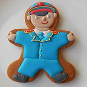 Сувениры и подарки handmade. Livemaster - original item The carrot ginger COP.Cakes for men.Size 15 cm.. Handmade.
