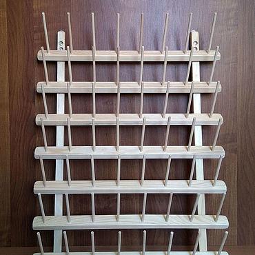 Материалы для творчества ручной работы. Ярмарка Мастеров - ручная работа Стенд для бобин до 6 см (5000я) на 56 мест. Handmade.