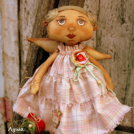 Ароматизированные куклы ручной работы. Ярмарка Мастеров - ручная работа. Купить Луша.. Handmade. Коричневый, подарок женщине, Авторский дизайн
