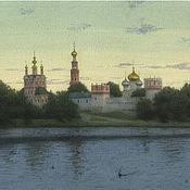 Картины и панно handmade. Livemaster - original item Posters Moscow Novodevichy convent And. Ulumbekov. Handmade.