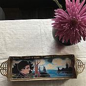 Vintage sets handmade. Livemaster - original item Tray
