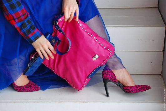 """Женские сумки ручной работы. Ярмарка Мастеров - ручная работа. Купить Сумка """"Розовый слон"""". Handmade. Розовый, сумка кожаная"""