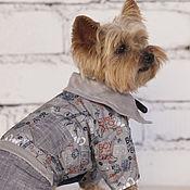 Для домашних животных, ручной работы. Ярмарка Мастеров - ручная работа Комбинезон для собаки BOY. Handmade.