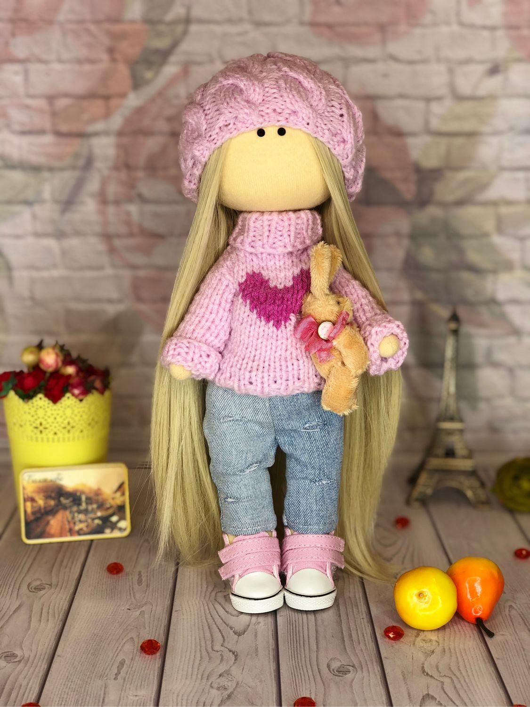 Кукла текстильная Бэлла. Кукла интерьерная. Кукла коллекционная, Портретная кукла, Симферополь,  Фото №1