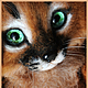 """Игрушки животные, ручной работы. Ярмарка Мастеров - ручная работа. Купить Валяная игрушка котенок """"Рыжий Сюрприз"""". Handmade. Рыжий"""