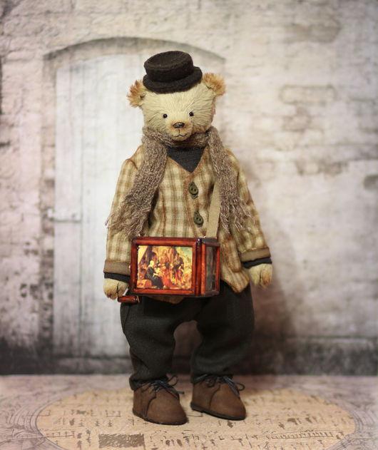 Мишки Тедди ручной работы. Ярмарка Мастеров - ручная работа. Купить Авторский коллекционный мишка Карло 27 см. Handmade.