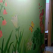 Дизайн и реклама ручной работы. Ярмарка Мастеров - ручная работа Художественная роспись стен от 500р. Handmade.