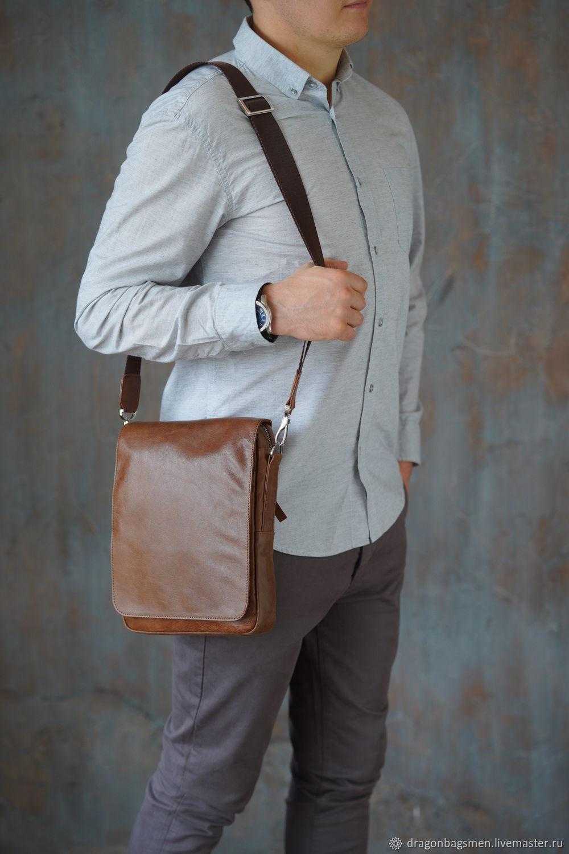 Men's crossbody bag ' Cordinal', Crossbody bag, Yaroslavl,  Фото №1