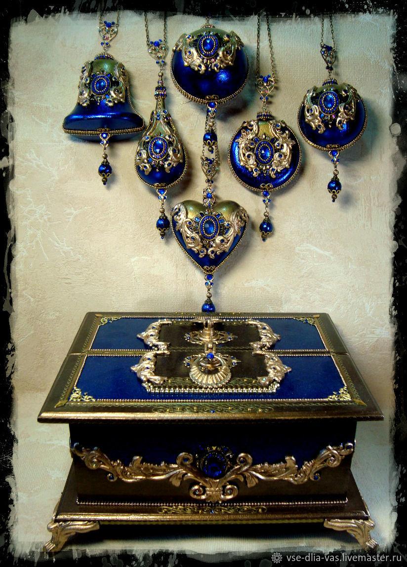 Набор елочных игрушек Тhe Palace luxury, Елочные игрушки, Москва,  Фото №1