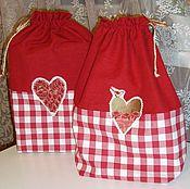 Подарки к праздникам handmade. Livemaster - original item LOVE STORY - a bag for clothes, gift packaging. Handmade.