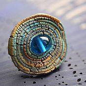 """Украшения ручной работы. Ярмарка Мастеров - ручная работа """"Самый Синий Океан"""" кольцо. Handmade."""
