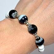 Украшения handmade. Livemaster - original item Bracelet from natural agate. Handmade.