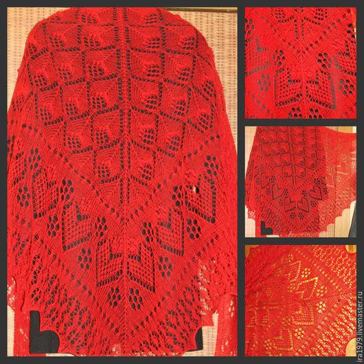 """Шали, палантины ручной работы. Ярмарка Мастеров - ручная работа. Купить Шаль """" Из Эстонии с любовью""""дизайнер Meeli Vent. Handmade."""