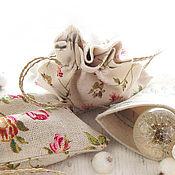 Мешочки ручной работы. Ярмарка Мастеров - ручная работа Подарочная упаковка, мешочки из натуральной ткани. Handmade.