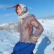 """Одежда ручной работы. Ярмарка Мастеров - ручная работа Зимнее пальто """"Волшебный узор"""".. Handmade."""