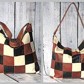 """Женская сумка - Yulada Bag """"Печворк-1""""(L"""