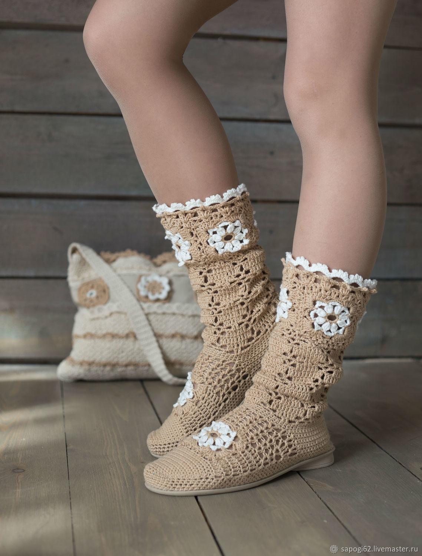 "Summer boots ""Arlette"", High Boots, Ryazan,  Фото №1"