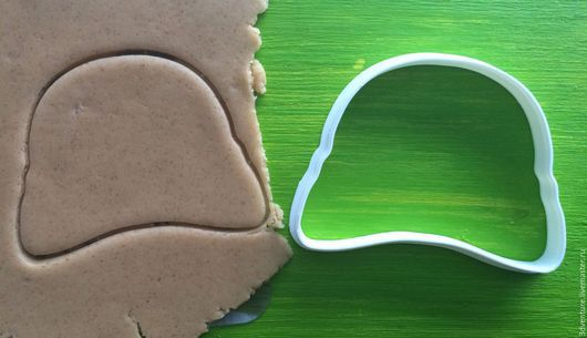 Кухня ручной работы. Ярмарка Мастеров - ручная работа. Купить Форма для печенья Каска. Handmade. Разноцветный, формочка для печенья