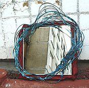 Для дома и интерьера ручной работы. Ярмарка Мастеров - ручная работа Зеркало Волна в траве. Handmade.