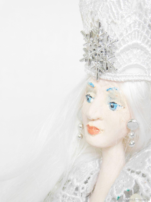Коллекционные куклы ручной работы. Ярмарка Мастеров - ручная работа. Купить СНЕЖНАЯ КОРОЛЕВА авторская коллекционная кукла. Handmade.