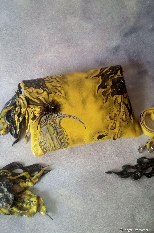 Handbag genuine leather 'heavenly dreams', Classic Bag, Korolev,  Фото №1