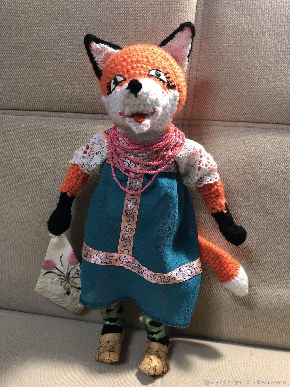 Лиса Патрикеевна, Мягкие игрушки, Краснознаменск,  Фото №1