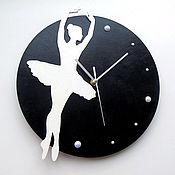 Часы классические ручной работы. Ярмарка Мастеров - ручная работа Часы Балет. Handmade.