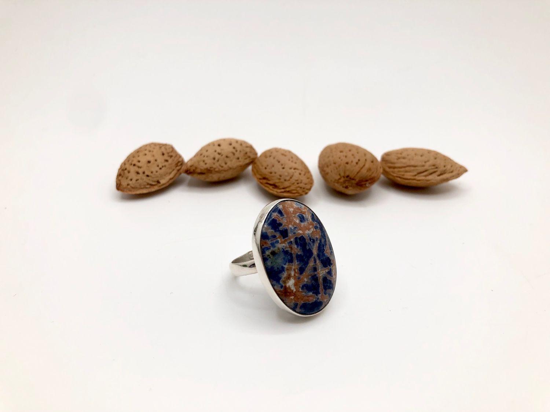 Ring with sodalite, Rings, Feodosia,  Фото №1