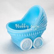Материалы для творчества handmade. Livemaster - original item Silicone molds for soap Stroller. Handmade.