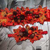 Украшения ручной работы. Ярмарка Мастеров - ручная работа Осенние аксессуары. Handmade.