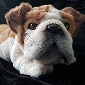 Куклы и игрушки handmade. Livemaster - original item English bulldog Bob. Handmade.