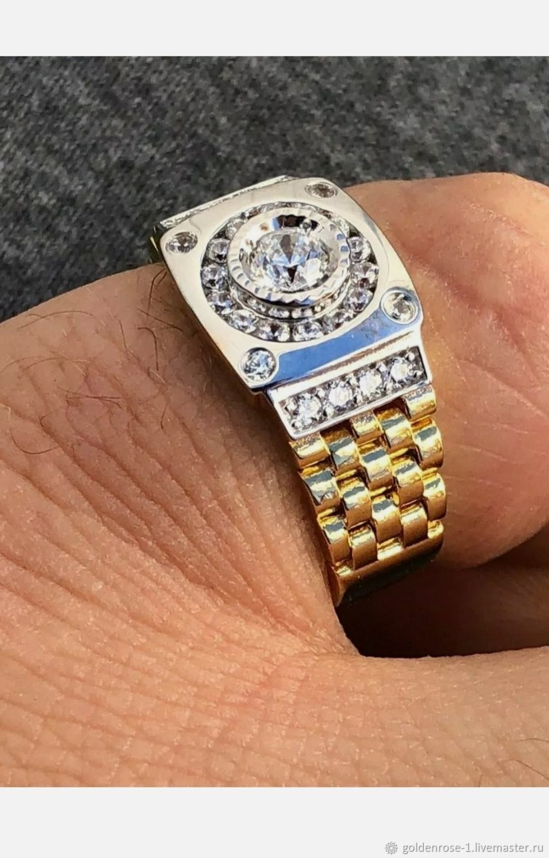 """""""Diamond"""" Перстень с натуральным бриллиантом, Перстень, Ульяновск,  Фото №1"""