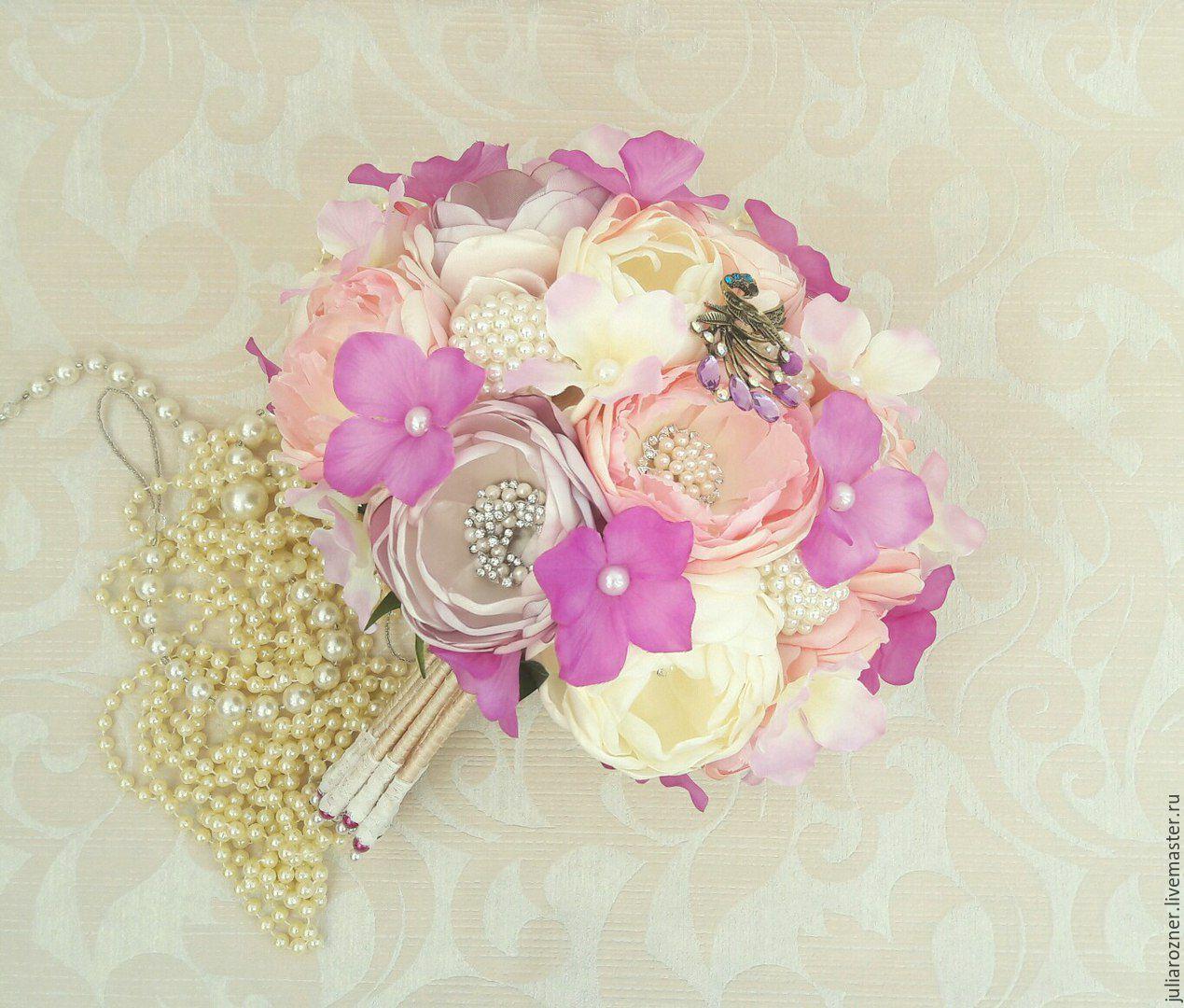 Wedding brooch bouquet \
