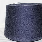 Материалы для творчества handmade. Livemaster - original item acrylic yarn on cone denim Melange 7535. Handmade.