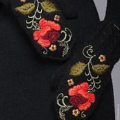 """Аксессуары ручной работы. Ярмарка Мастеров - ручная работа Варежки """" Аленький  цветочек"""". Handmade."""
