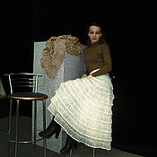 Одежда ручной работы. Ярмарка Мастеров - ручная работа Юбка   Виолетта. Handmade.