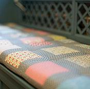 """Текстиль ручной работы. Ярмарка Мастеров - ручная работа Подушки-сидушки """"Цветочные"""". Handmade."""
