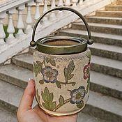 Винтаж handmade. Livemaster - original item Old can 1875, for Tunnicliffe and Co crackers, England. Handmade.