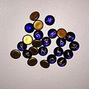 """Фен-шуй и эзотерика ручной работы. Ярмарка Мастеров - ручная работа Рунический набор """"Мини"""" (стекло 14мм). Handmade."""