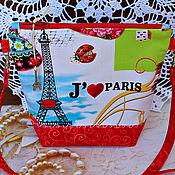 Сумочка ....Прогулка по Парижу ....