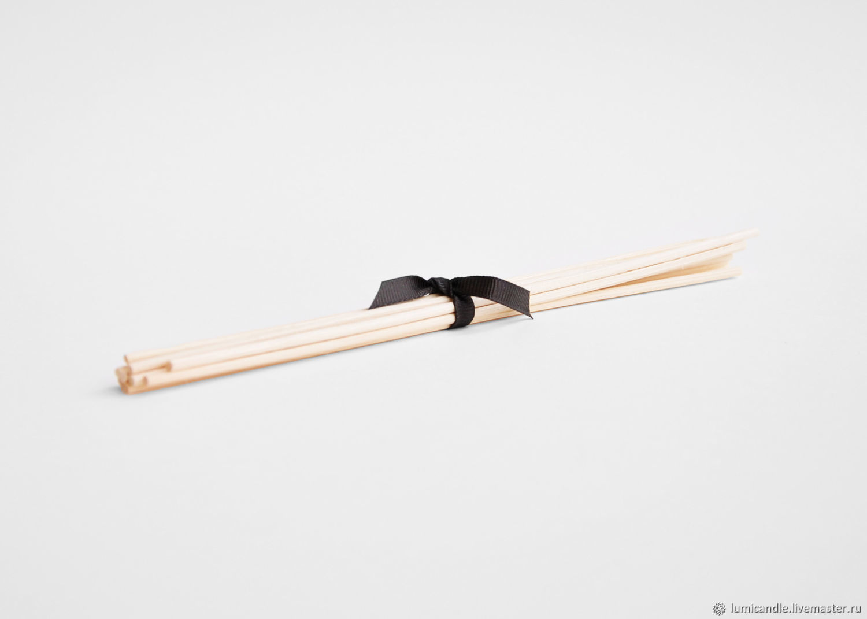 Палочки (ротанг) для диффузора 10 шт, Ароматический диффузор, Москва,  Фото №1