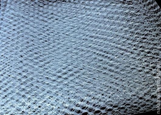 Другие виды рукоделия ручной работы. Ярмарка Мастеров - ручная работа. Купить Вуаль с серебряным люрексом 1м кв. Handmade.
