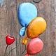 Подарки для влюбленных ручной работы. Ярмарка Мастеров - ручная работа. Купить Валентин. Handmade. Слон, День Святого Валентина, хлопок