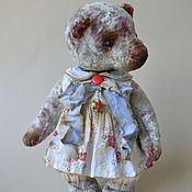 Куклы и игрушки ручной работы. Ярмарка Мастеров - ручная работа Мишка тедди Сашенька. Handmade.