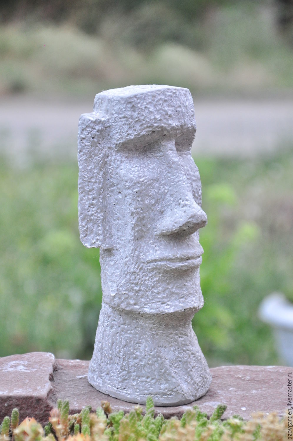 Free Moai Statue Made Of Concrete For Interior Decoration And Garden With  Moai Home Garden.
