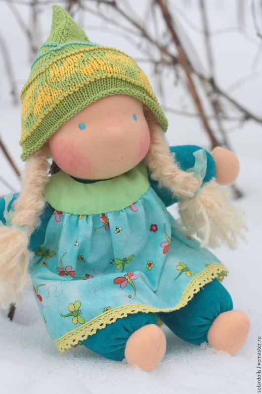 Вальдорфская кукла Стрекозка 32  см .Julia Solarrain (SolarDolls) Ярмарка Мастеров
