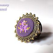Украшения handmade. Livemaster - original item Embroidered ring
